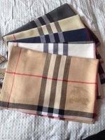 B british style 2014 autumn and winter classic plaid high quality mercerizing wool silk scarf ultralarge female cashmere cape