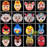 Parent-child game mask plastic cartoon mask cartoon jubilance series mask