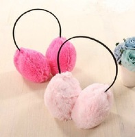 plush earmuffs winter thermal windproof ear