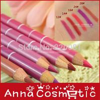 200pcs DHL free shipping Slender lip liner lipstick lip pencil durable painting multicolor
