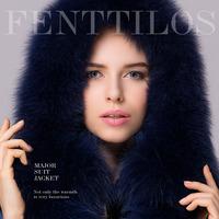 Free shipping down coat luxury fashion female high quality thickening slim medium-long plus size