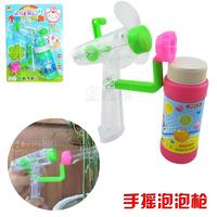 Child bubble toy multifunctional bubble fan deformation puff fan hand toy