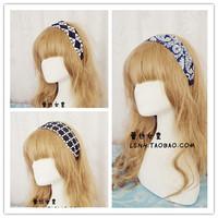 Fashion Korea 3Pattern black vintage Wide elastic headbands hairbands hair bands for women hairband hair accessories