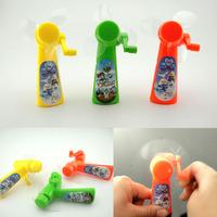 Eco-friendly manual small fan hand fan portable mini fan toy
