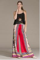 Bohemia wide leg pants NEW palazoo trousers Aztec pants Tropical print  BOHO PANTS