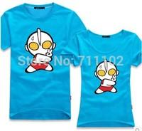 MEN new Cartoon summer ottoman t-shirt japanese cute lovely candy color boys girls superman 6XL 5XL 4XL bboys plus size gifts