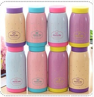 free shipping Women's  stainless steel vacuum cup portable big lovers thermos 280ml 350ml