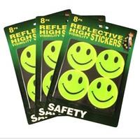 Ride multi purpose reflective patch reflective stickers child reflective 12pcs