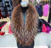 Fur fur collar son of raccoon fur shawl collar square collar scarf muffler scarf cap general coffee