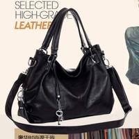 Genuine leather women's handbag fashion