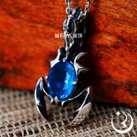 925 pure silver jewelry vintage thai silver pendant necklace pendant Couples Pendants