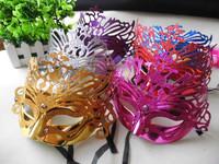 Powder masquerade child mask love Christmas led glasses