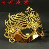 Gold mask powder mask masquerade ruslana korshunova mask