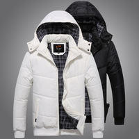 Men's clothing 2014 winter slim men winter outerwear wadded jacket male thickening cotton-padded jacket male