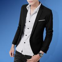 Men's clothing 2014 autumn boys blazer male slim blazer outerwear