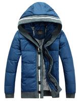 Slim  Hooded Leisure  50% white duck  Down Jacket  Man Winter Jacket Down Jacket Mens Winter coat