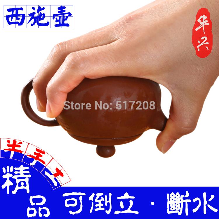 Chinese yixing zisha purple clay tea set mini xi shi zisha tea pot of high quality