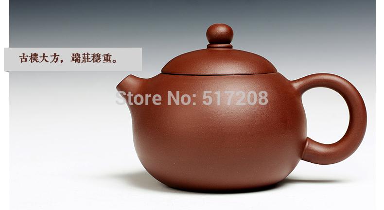Chinese yixing tea set zisha stoneware tea pot 160ml marked tea pot beauty xi shi pot with infuser holes good quality on sales(China (Mainland))