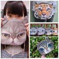 Fashion Vintage  soft  messenger tiger bag  single chain shoulder bag