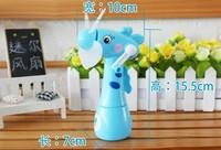 Eco-friendly fan hand spray fan cartoon mini fan toy carry