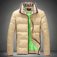 2015 hot  winter wadded jacket national male trend down cotton thermal cotton-padded jacket  plus size winter outerwear