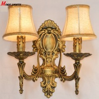 FREE Shipping Antique bronze wall Light  fashion bedroom bedside lamp antique Wall Light Modern