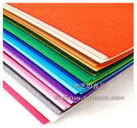 Ultra-cost non-woven fabric by hand DIY 15 * 15 cm 41 kinds of colors