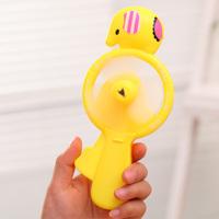 Eco-friendly manual fan hand fan portable mini fan toy