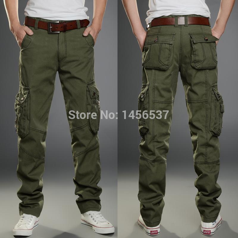 Khaki Cargo Pants Men Men Cargo Pants Military Army