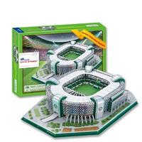 Fans souvenir model homecourt football soccer