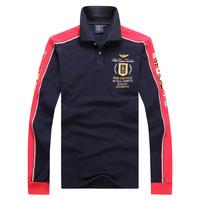 Men Golf shirt 2015 Men's Brand New T Shirt For Men Cotton long-sleeve shirt sports jerseys 100% cotton