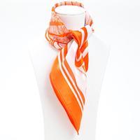 53*53cm Bocoos mulberry silk print silk leugth small silk scarf small facecloth scarf