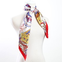 88*88cm Bocoos autumn and winter red mulberry silk large facecloth silk scarf big scarf