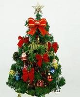 30cm mini desktop small  christmas tree and  decoration