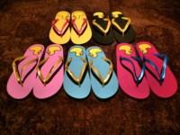 summer cartoon flip flops beach female slippers