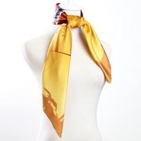 88*88cm Bocoos slanting stripe mulberry silk doodle large silk scarf silk large facecloth