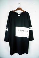 2014 autumn medium-long plus size clothing loose outerwear sweatshirt female long-sleeve T-shirt basic shirt