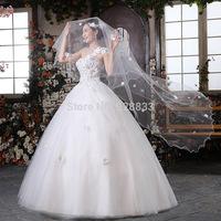 2014 new arrival one shoulder flower princess lace plus size mm vintage maternity bandage wedding dress free shipping