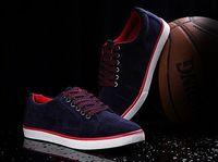 Breathable fashion big size EU 38-47 men basketball shoes by factory