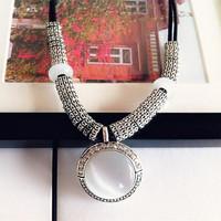 2014 fashion elegant necklace female short design chain fashion vintage jewelry