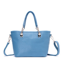 Now 2014 Korean Women's bag Shoulder bags Small plaid pattern Female real leather bag Handbags classic bags