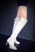 Wedding shoes boots steel pipe dance boots small yards shoes 30 - 33 plus size boots 40 - 43 44 45 46 47 48