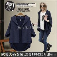 Mm2014 autumn fashion plus size clothing jacket outerwear autumn and winter
