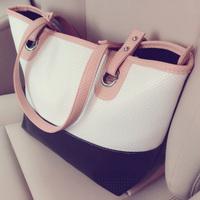 Free shipping Fashion vintage 2014 autumn big bags handbag shoulder bag female bags bolsas de marca