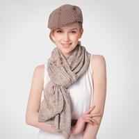Spring warm knitted wool scarf lady long warm scarf long scarf shawl dual