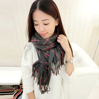 England plaid cashmere scarf female Korean winter lovers thick scarf scarf shawl dual /free shipping/5color/gift/free