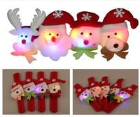 Children's Cristmas gift, Christmas decoration, small gift, lighting bracelet, christmas toy, Wholesale 48pcs/lot Free Shipping