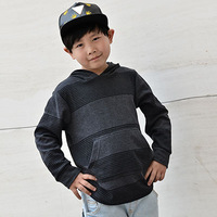 free shipping Small child male child autumn clothes hemp cotton casual outerwear sweatshirt sports top