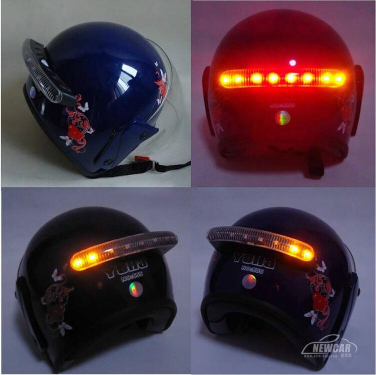 Inventam de tudo... LOL -font-b-Wireless-b-font-Motorcycle-Helmet-Stop-Brake-Light-LED-w-font-b-Turn