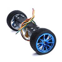 Wheel balancing barrowload 2wd metal motor wheel balancing barrowload intelligent barrowload chassis